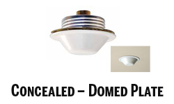 Concealed-Domed Plate