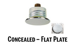 Concealed-Flat Plate