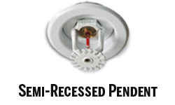 Semi-Recessed Pendent